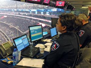 AT&T stadium incident management command