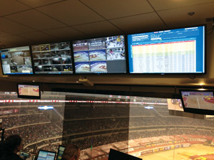 AT&T stadium incident management system screen