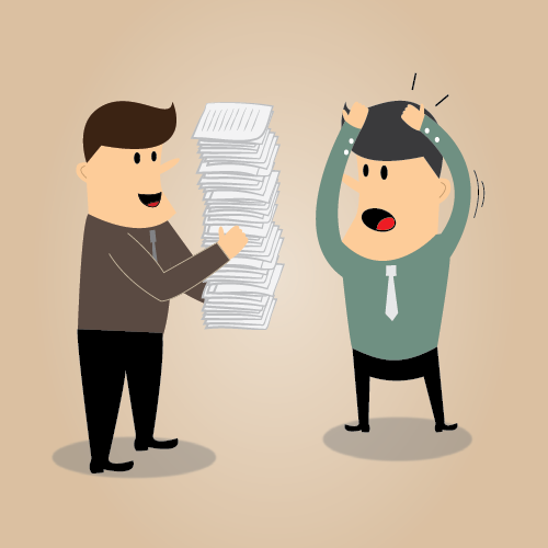 engineer passing work orders to facility manager without paperless CMMS software in place