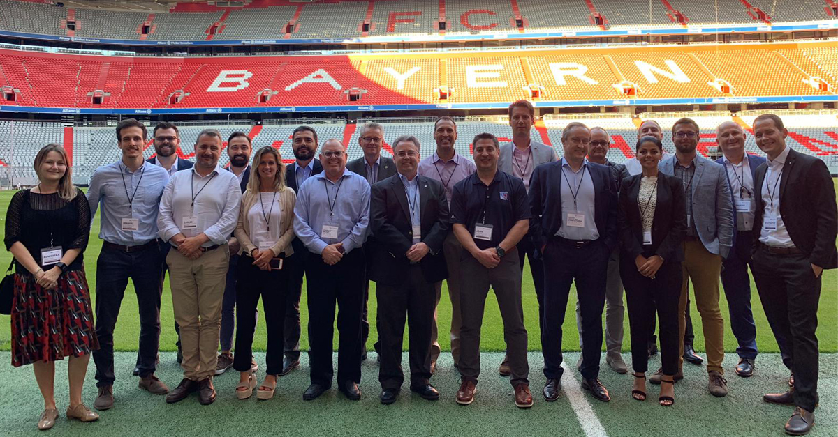 24 7 Software VIP Experience hosted at Allianz Arena