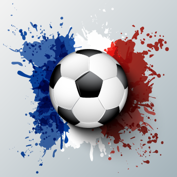 soccer-ball-in-front-of-abstract-of-French-flag